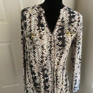 Inc blouse size L